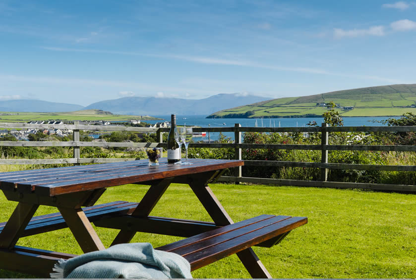 Dingle holiday accommodation with scenic views