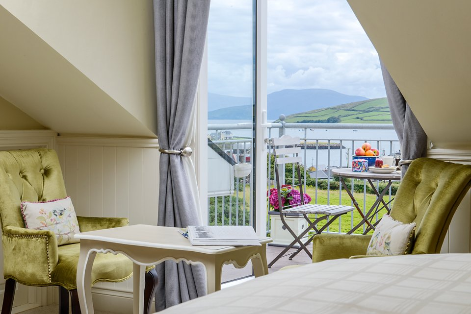 The Nest - a perfect location for solo travellers or couples with views of the Peninsula