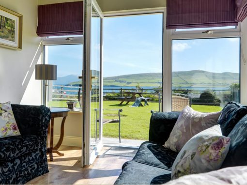 Luxury accommodation with spectacular views